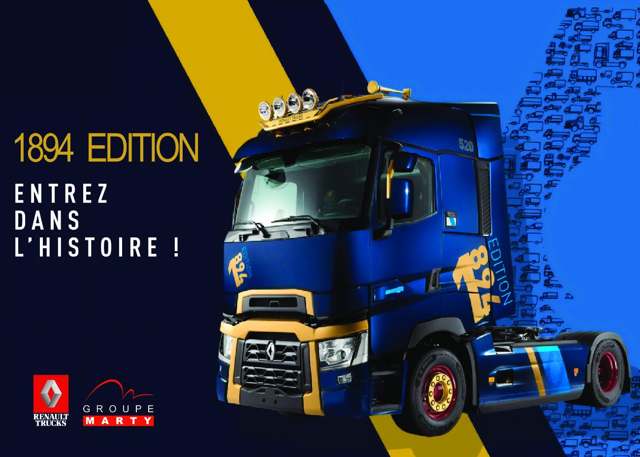 Flyer recto1894 EDITION Renault Trucks