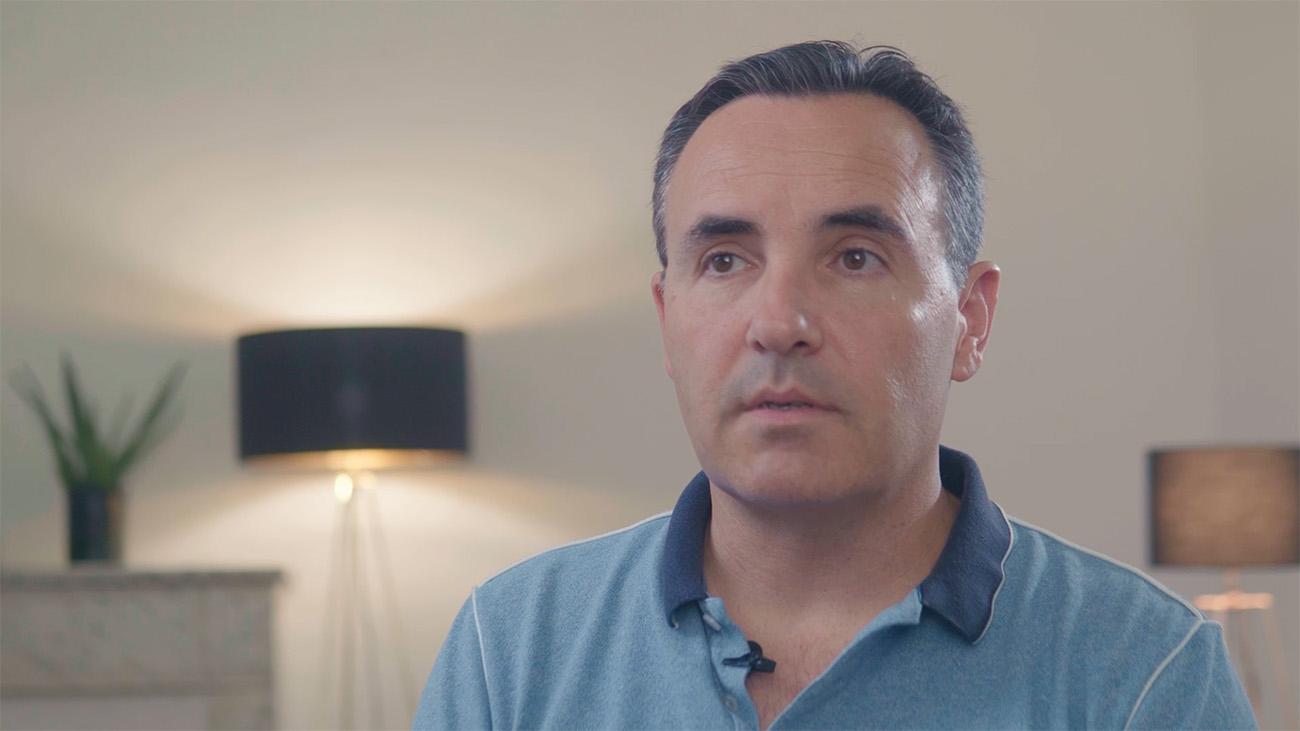 Capture d'écran d'une interview institutionnelle pour Oriade.